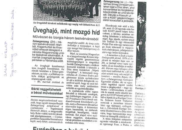 Zalai Hirlap 03/05/2004